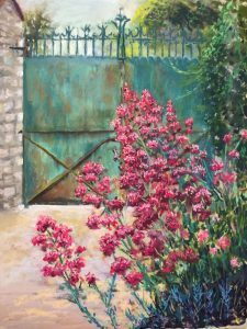 Giverny, Gate at Baudy 50 x 60 cm (2015) €350