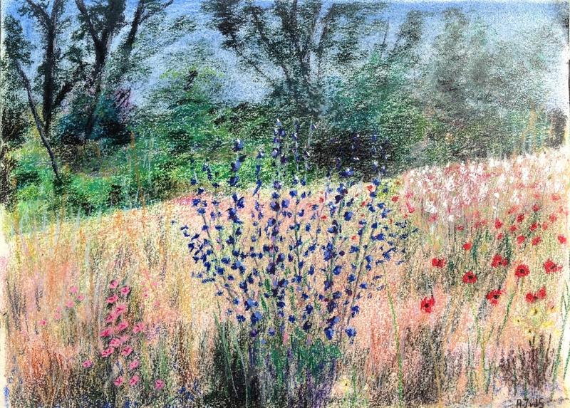Berm in de Provence 50 x 60 cm (2014) € 350