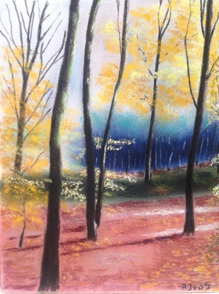 Bos bij Kleve (2015) verkocht