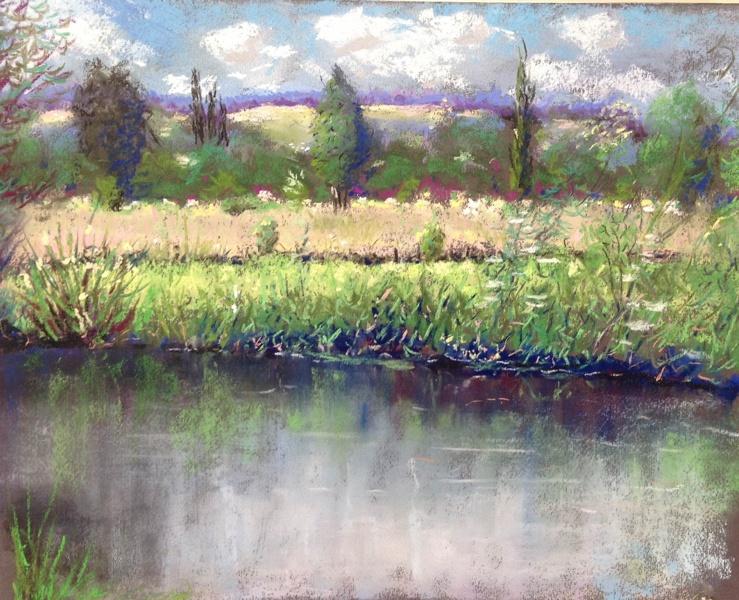 Bij de rivier de Epte 1 Giverny verkocht