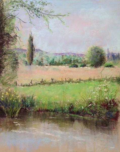 Bij de rivier de Epte 2 Giverny verkocht