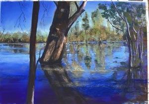 River Murray (50 x 70) verkocht